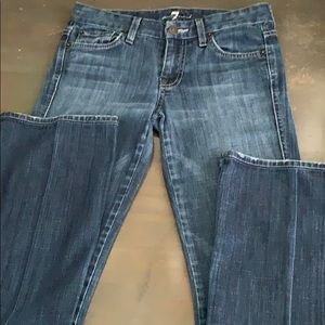 7 for all mankind jeans 25